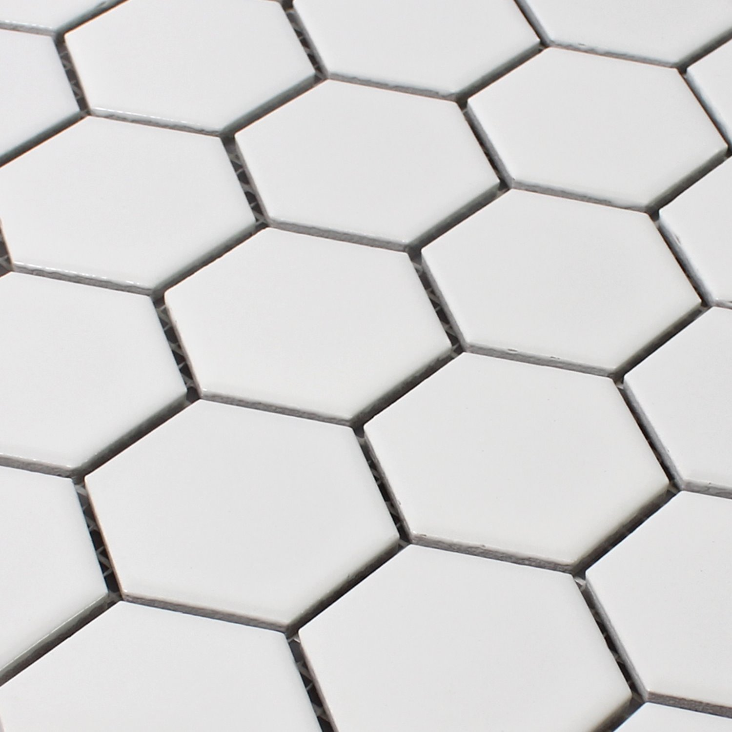 Carrelage hexagonal blanc id es de for Carrelage blanc hexagonal