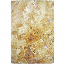 Carreaux Pierre Naturelle Travertin Castello Or 40,6x61cm