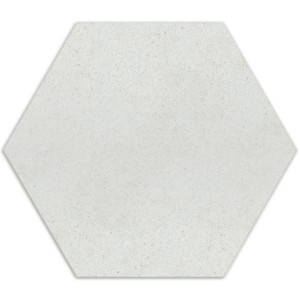 Carreaux de Ciment Optique Hexagone Alicante Blanco