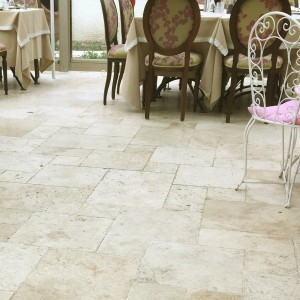 Carreaux Pierre Naturelle Travertin Barga Beige