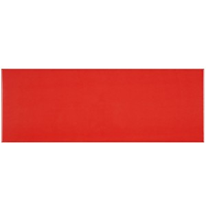 Carrelage Mural Contento Rouge 25x50cm