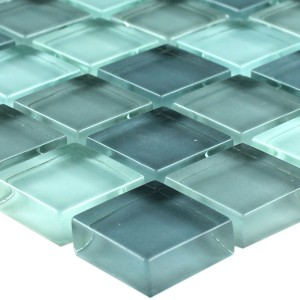 Mosaïque Verre Light Grey 23x23x8mm